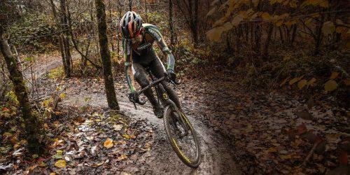 Mit dem Gravel Bike<br>durch Wald &#038; Winter!