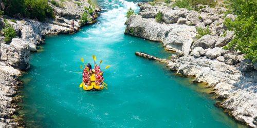 Lass dich mitreissen: Rafting im Berchtesgadener Land