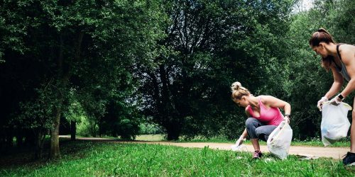 Lauf für dich selbst und die Umwelt: Plogging